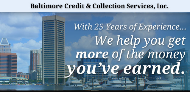 baltimore credit collection services